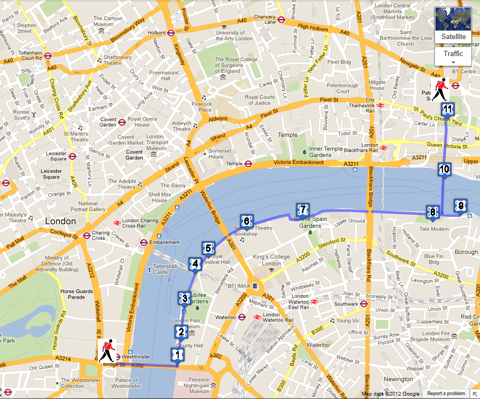 the queens walk london the queens walk interactive google sightseeing map