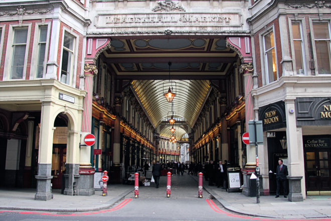shops leadenhall market