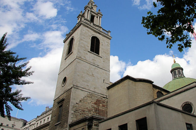 tower of st stephen walbrook church