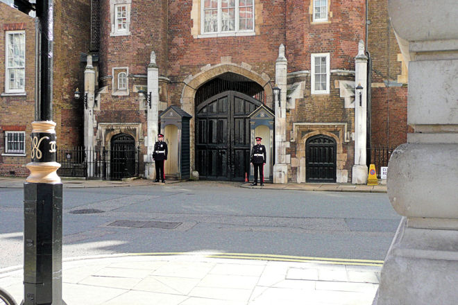 16 century main gate st james's palace